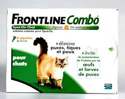 Composition Anti Puce Frontline Chat