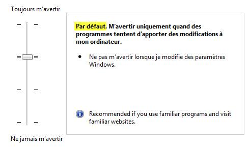 Menaces Autorisées Windows Defender
