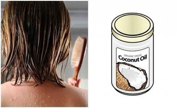 Huile De Coco Pour Cheveux